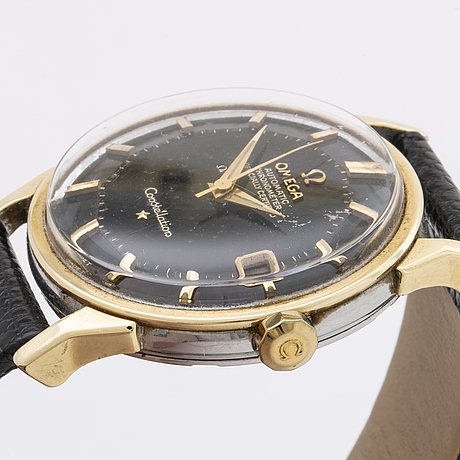 "Omega, constellation, chronometer, ""pie-pan"", wristwatch, 34 mm."