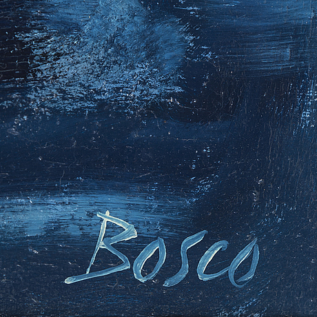 Pierre bosco,oil on canvas, signed.