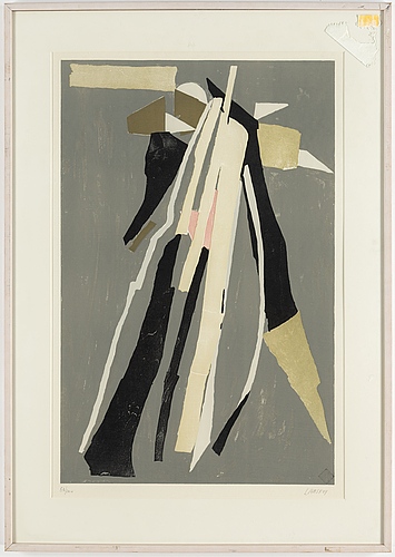 Two signed and numbered lithographs bu andrÉ lanskoy.