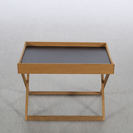 A mid 20th century side table,  bo-ex, denmark, second half of the 20th century.