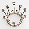 An aarvo saarela silver bridal crown, 1965.