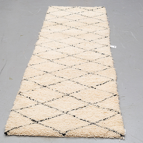 Gallerimatta, marocko, 274 x 78 cm.