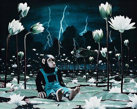 "Helena blomqvist, ""waterlilies"", 2008."