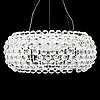 Patricia urquiola & eliana gerotto, a 'caboche grande' ceiling light from foscarini, italy.