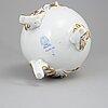 Herend, a porcelain jug, hungary.