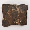 A swedish copper1/2  plate money fredrik i 1740.