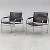 Tord bjÖrklund, a pair of 'klinte' armchairs from ikea.