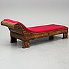 Sofa, probably netherlands, first half of the 19th century.