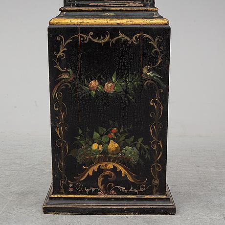 Golvur, urtavla märkt barrow london samt johan israel nyman, stockholm (verksam omkring 1753-1769).