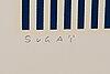 Kumi sugai, serigraph, signed, numbered 33/90.