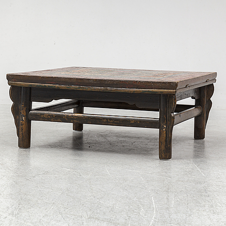 A low chinese table, 20th century.