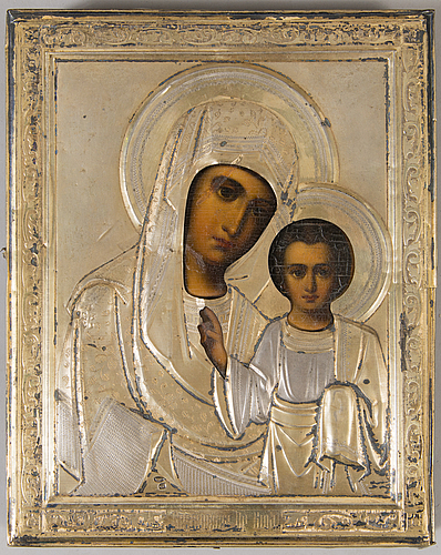 A turn of the 20th russian icon.