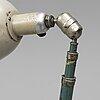 Johan petter johansson, an industrial 'triplex' lamp from asea, mid 20th century.