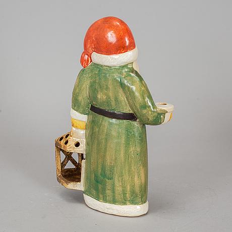 Lisa larson, a stoneware figurine, k-studion, gustavsberg.