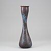 Gunnar nylund, a stoneware vase, rörstrand, sweden.