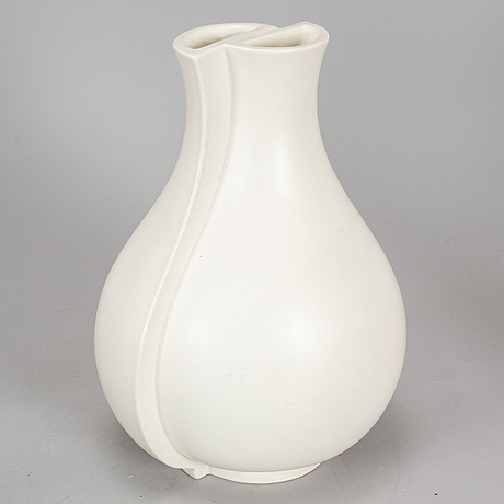Wilhelm kÅge, a 'surrea' stoneware vase from gustavsberg.