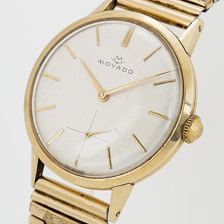 Movado, wriswatch, 33 mm.
