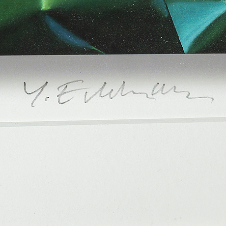 YrjÖ edelmann, a gicléeprint, signed and numbered 34/375.