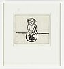 Lena cronqvist, etching, signed and numbered 61/65.