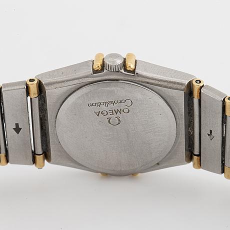 Omega, constellation, armbandsur, 22,5 mm.