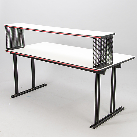 YrjÖ kukkapuro, a late 20th century 'visual' writing table for avarte.