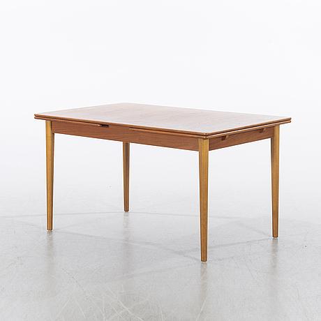 "Nils jonsson,a ""bjärni"" dining table, troeds, bjärnum, and 5 chairs fastrup, denmark."