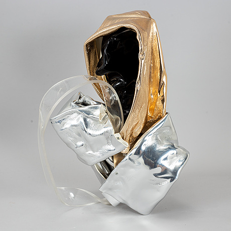 Jan naliwajko, a plexi sculpture, signed, dated 2014and numbered 15.