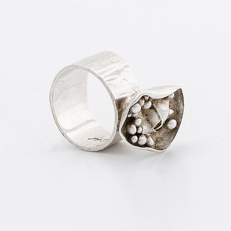 Ring silver bernd janusch stockholm.