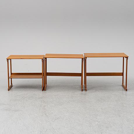 Satsbord, 3 delar, 1900-talets andra hälft.