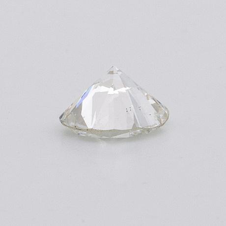 Diamond loose stone, brilliant-cut approx 0,65 ct approx g-h si.