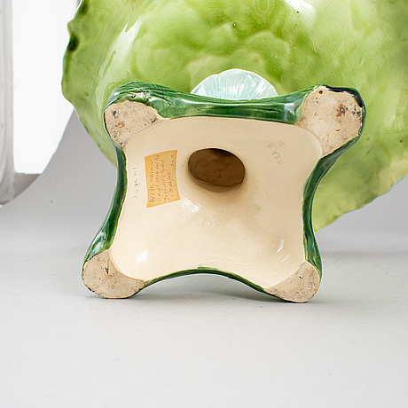 A maiolica bowl, art nouveau. first half of the 20th century.