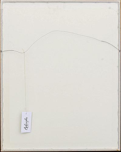 Fernandez arman, färgserigrafi, sign och numrerad 78/125.