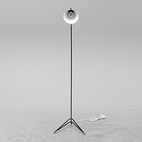 A 1950s floor lamp.