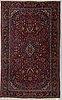 A rug, semi-antique kashan, ca 200 x 131 cm.