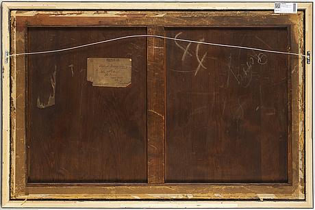 OkÄnd konstnÄr, england, 1800/1900-tal. akvarell, signerad och daterad 1881.