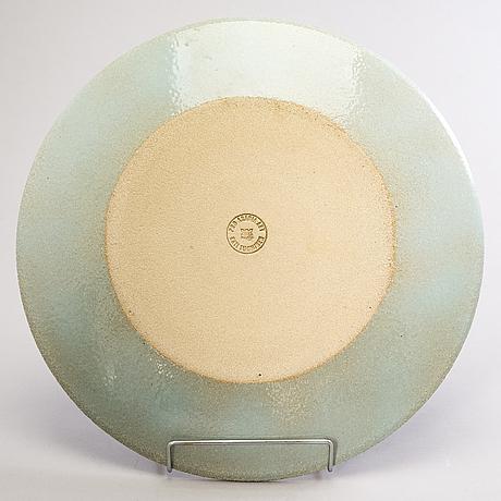 Kati tuominen-niittylÄ, a ceramic dish stamped kati tuominen  pro art arabia.