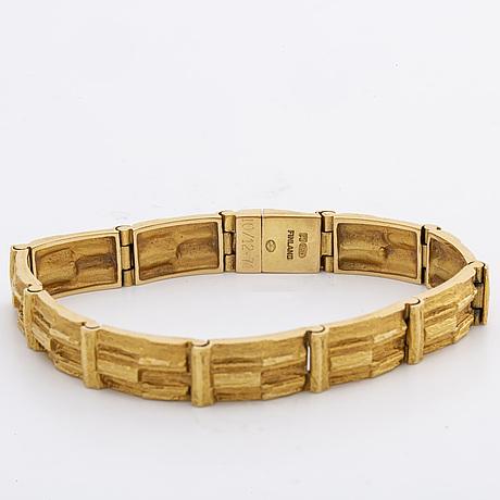 Lapponia bracelet 18k guld.