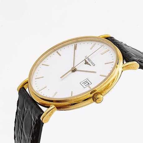 Longines, prèsence, armbandsur, 33,5 mm.
