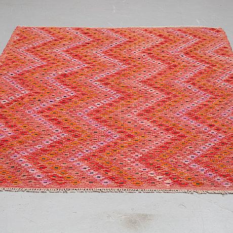 A carpet, kilim 236 x 182 cm.