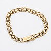 Gold bracelet, 18k gold, 11,2 g, stockholm 1962.