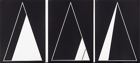 Eric lennarth, serigrafier 18 st i mapp, 1981.