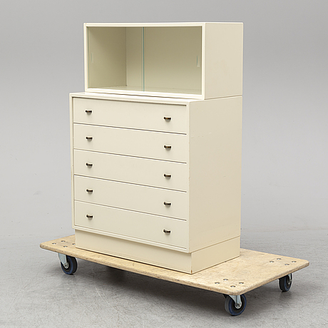 A danish chest of drawers and cupboard, gern, denmark, late 20th century.