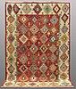 A carpet, kilim, ca 296 x 197 cm.