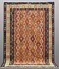 A carpet, kilim, ca 298 x 200 cm.