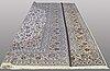 A carpet, kashan, ca 393 x 299 cm.