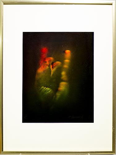 "Carl fredrik reuterswÄrd, ""finger language"" signerad hc 1972."
