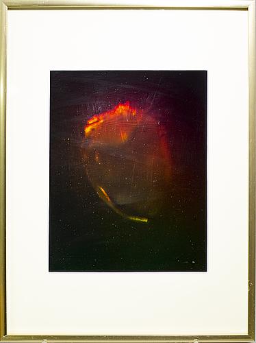 "Carl fredrik reuterswÄrd, ""kilroy's heart"", 1975."