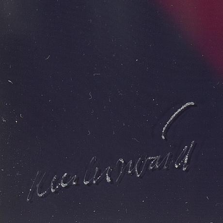 "Carl fredrik reuterswÄrd, ""interletters"", ed 3, signerad, 2/2."