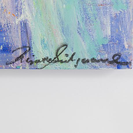 Birgitte sÖndergaard, oil on canvas, signed.