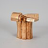 José luis sanchez, sculpture, bronze, signed j l sanchez and numbered 1000/210.